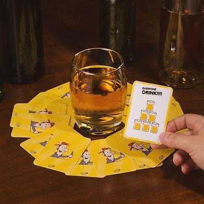Ring of Fire Cards Drinking Game Party Funny Adult Hen Do Stag