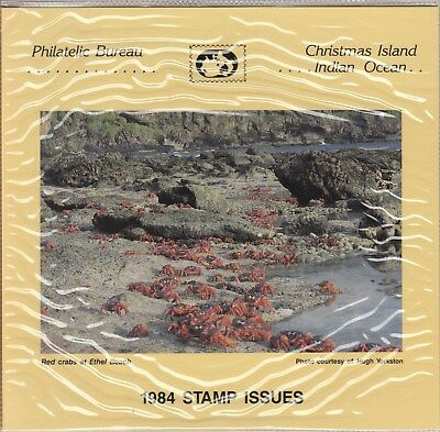 Christmas island: 1984 Stamp issues Official Post office pack. MUH & cheap