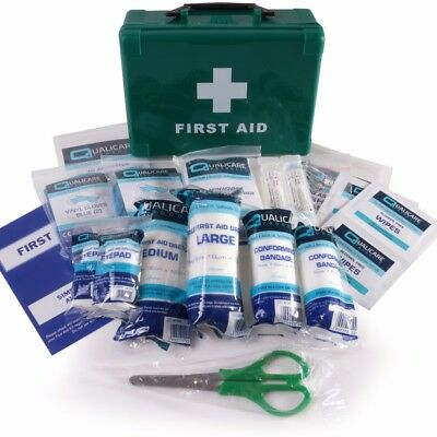 SMALL BSI FIRST AID KIT Vehicle/Travel Hard Case Box Car Taxi Medical Emergency