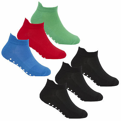REDTAG Active Boys Sports Trainer Liners with Grippers