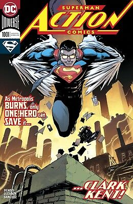 ACTION COMICS (2016) #1001 - Cover A - DC Universe Rebirth - New Bagged