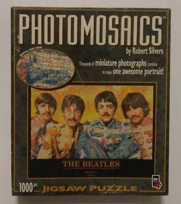 The Beatles Photomosaics Sgt Peppers Lonely Hearts Club Band Jigsaw Puzzle