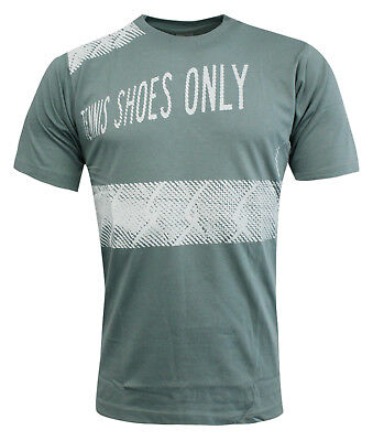 Nike Tennis Shoes Only Short Sleeve Mens Cotton Tee Top T-Shirt 141602 305 EE101