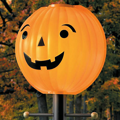 Halloween Pumpkin Lamppost Jacko Lantern Lampshade Cover Halloween Decor