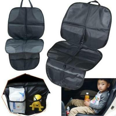 Waterproof Car Auto Seat Back Protector Cover Organizer for Kids Safe Kick Mat W