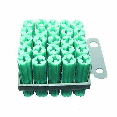 "TruePower #10 Green Anchor 1-1/4"" 1763, 25 pack"