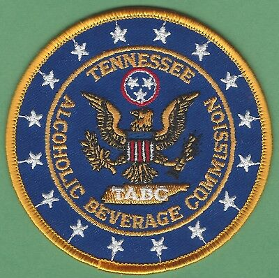 Tennessee State Alcoholic Beverage Commission Enforcement Police Patch