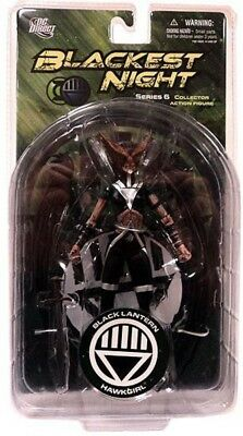 DC Green Lantern Blackest Night Series 6 Black Lantern Hawkgirl Action Figure