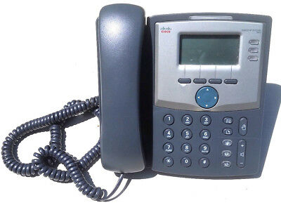 Cisco SPA303 - 3 Line IP Phone with DISPLAY AND PC PORT Base & NO Power Adapter