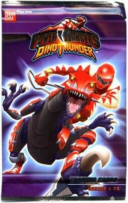 Power Rangers Dino Thunder Series 2 Trading Card Pack