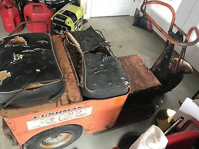 Cushman Minute Miser 730 Electric Scooter - Rare