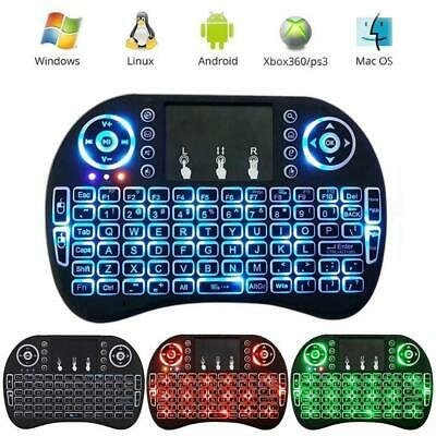 Backlight Mini i8 Wireless 2.4GHz Keyboard Remote Control Touchpad for Smart TV