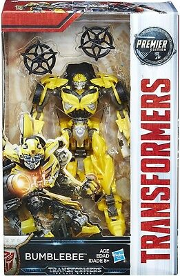 Transformers The Last Knight Premier Deluxe Bumblebee Action Figure [Version 1]