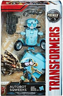 Transformers The Last Knight Premier Deluxe Autobot Sqweeks Action Figure
