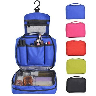 Travel Cosmetic Storage MakeUp Bag Folding Hanging Toiletry Organizer Pouch USA