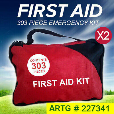 2x 303 Piece Emergency First Aid Kit - a Must Have for Family ARTG