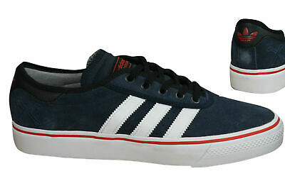 Details zu Adidas Originals Jeans S79995 leather suede mens shoes trainers blue red orange
