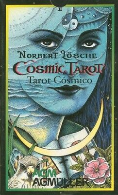 Cosmic Tarot Spanish Edition NEW Sealed Tarot Cosmico 78 Color Card Deck