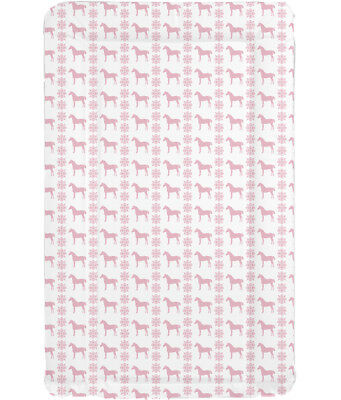 Changing Mat Pink Horse Changing Mat Baby Shower Gift Equine Changing Mat