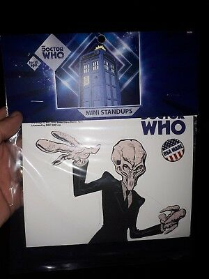 Doctor Who Brand new Mini Standee The Silence 10'