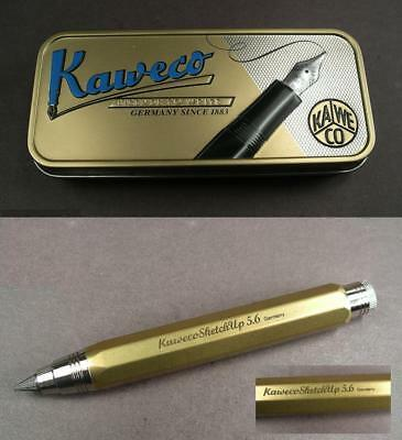 Kaweco Sketch Up Brass Messing Bleistift mit  5,6mm Mine  #
