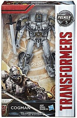 Transformers The Last Knight Premier Deluxe Cogman Action Figure