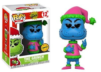 How the Grinch Stole Christmas POP Books Santa Grinch Vinyl Collectible #12