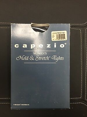 Capezio Hold And Stretch Womens Tights Vtg Black
