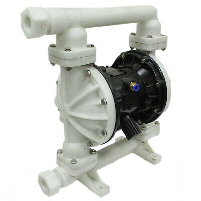 Pneumatic Diaphragm Pump QBK-25 compressed air supply double new intake outlet