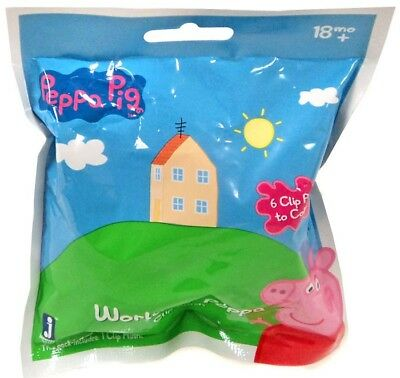 Peppa Pig Plush Clip On World of Peppa Mystery Pack
