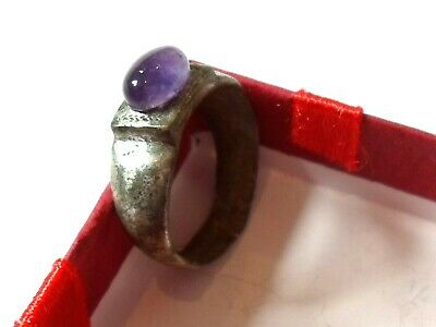 Offer Ends...,detector Find, 200-400 A.d Roman Decorated Bezel Ring.