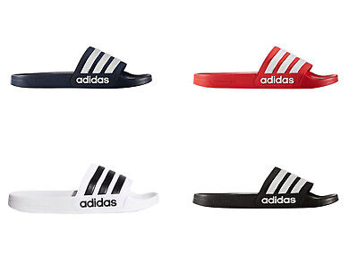Adidas Men's Adilette Slides / Sandal Shoe NEW Navy Red Black or White