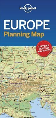 Lonely Planet Europe Planning Map by Lonely Planet 9781786579102