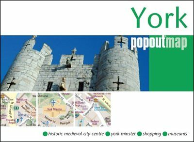 York PopOut Map by Compass Maps (Sheet map, folded, 2017)