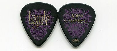 LAMB OF GOD 2007 Sacrament Tour Guitar Pick!! JOHN CAMPBELL custom concert stage