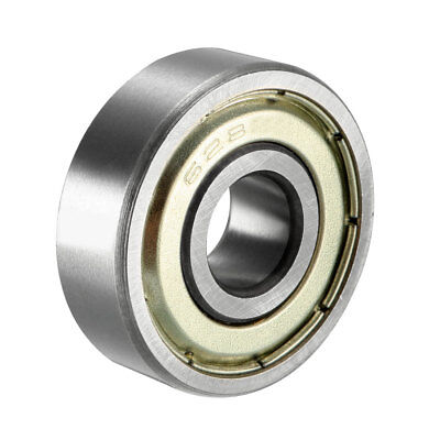 Deep Groove Ball Bearing 628ZZ Single Shield, 8mm x 24mm x 8mm Chrome Steel
