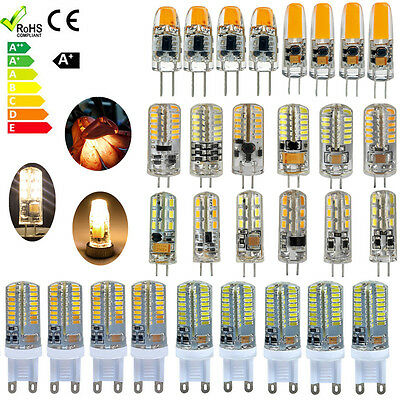 10X G4 G9 LED Ampoule lampe 1.5W 2W 3W SMD 3014 AC DC 12V Blanc chaud froid