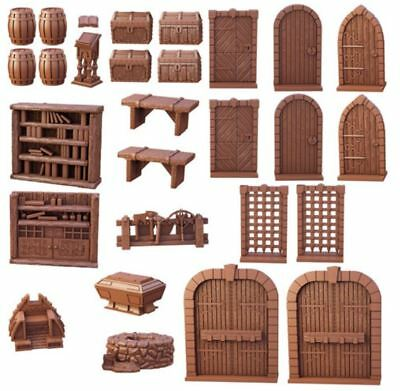 Mantic Games - TerrainCrate 28mm Fantasy Scenery - Dungeon Essentials