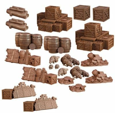 Mantic Games - TerrainCrate 28mm Fantasy Scenery - Dungeon Debris