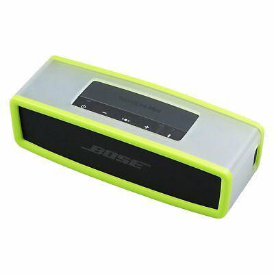 Green Cover Silicone Carry Case Bag For SoundLink Mini Speaker