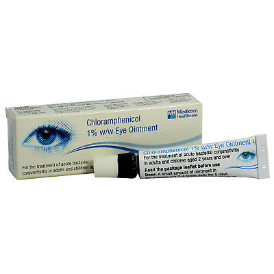 Stye Eye Infection Ointment Antibiotic Bacterial Blepharitis Conjunctivitis