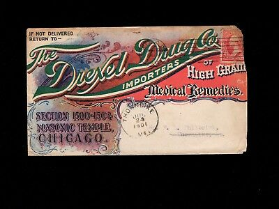 Quack Medicine Medical Remedies Drexel Drug Chicago 1901 Cover 1k