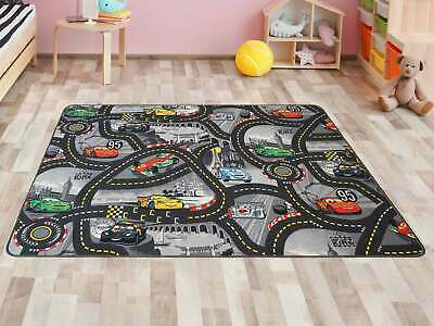 Disney CARS Kids Rug Road Map Carpet Children's Room Playmat 4 sizes available