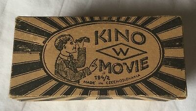 ANTIQUE 1920's CZECHOSLOVAKIA KINO MOVIE VIEWING TOY with film