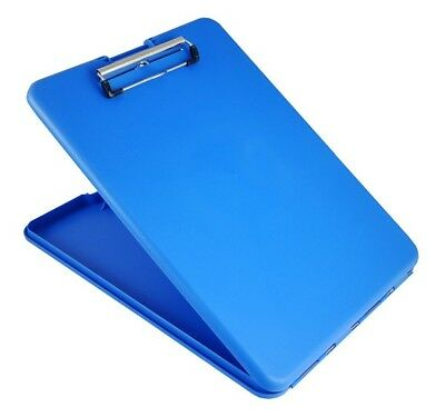 """Saunders 00559 Blue SlimMate Storage Letter/A4 Clipboard 1.25"""" x 9.5"""" x 12.75"""""""