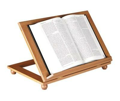 CARVED WOOD IHS Bible Or Book Display Stand With Ledge Oak 40 Inch Cool Bible Display Stand