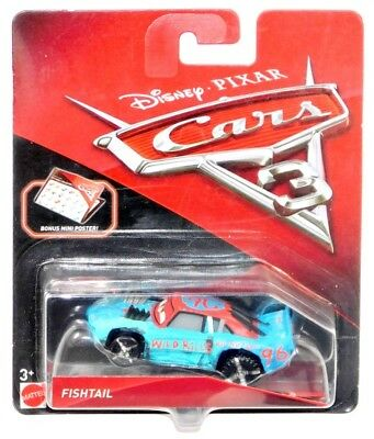 Disney pixar cars 3 fishtail thunder hollow speedway diecast vehicle with poster picclick - Coloriage cars 3 thunder hollow ...