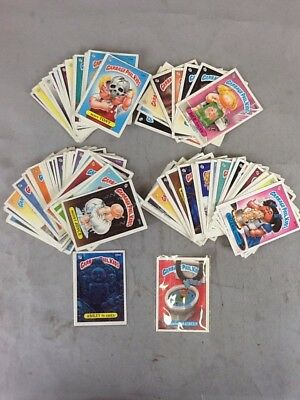 Vintage 1980s Garbage Pail Kids Trading Cards OS 4-9 Lot Of 92 Loose
