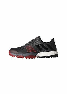 best website cf016 66421 Adidas adiPower Sport Boost 3 Waterproof Golf Shoes Onix Black Scarlet 9.5