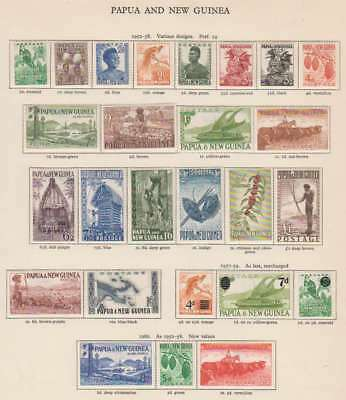 A1576: Papua New Guinea Stamp Collection; CV $273